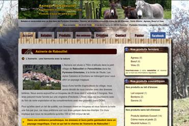 Consulter le site de l'Asinerie de Rabouillet