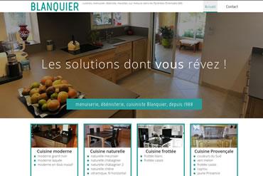 Consulter le site de l'ébénisterie menuiserie Blanquier